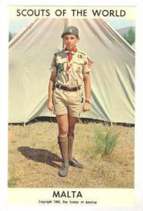 Boy Scouts of the World, Malta,40-60s