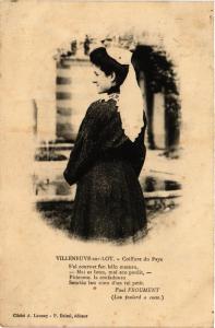CPA VILLENEUVE-sur-Lot - Coiffure du Pays (356744)
