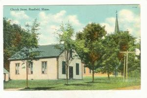 Church Street, Readfield, Maine, 1900-1910s
