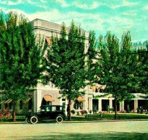 Miramar Hotel Antique Auto Miami Florida FL UNP 1920s Vtg Postcard