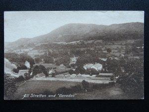 Shropshire CHURCH STRETTON & CARADOC c1906 Postcard by Frith