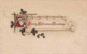 Christmas Santa Claus Red Robe 1910