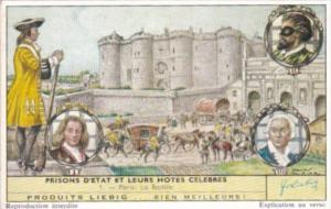 Liebig S1735 State Prisons and Famous Guests No 1 Paris La Bastille