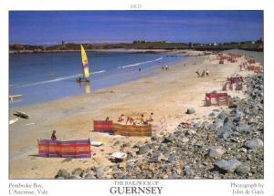 Guernsey Postcard Pembroke Bay, L'Ancresse, Vale, C.I by D.R Photography Ltd P32