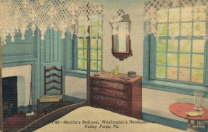 USA Martha´s Bedroom Washington´s Headquarters Valley Forge Pennsylvania 03.06