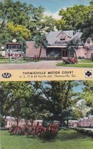 Georgia Thomasville Thomasville Motor Court