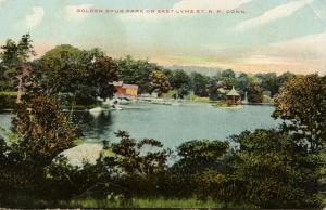 CT - East Lyme. Golden Spur Park on East Lyme Street Railroad