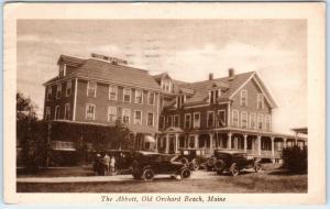 OLD ORCHARD BEACH, Maine   ME    THE ABBOTT  1930  Artvue  Postcard