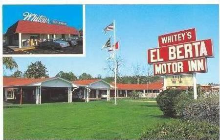 Whitey's EL BERTA Motor Inn, Wilmington, North Carolina, 50-60s