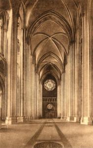 New York City Cathedral Of St John The Divine Albertype