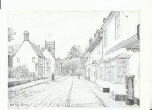 Wiltshire Postcard - Sheep Street - Highworth - Ref 18749A