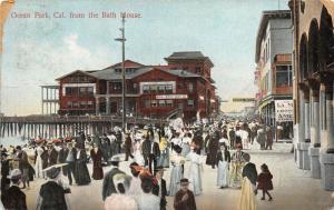 Ocean Park California~Roller Skaking Rink Opens July 4th~Victorian Ladies~1907