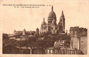 Basilique de Sacre-Coeur de Montmartre,Paris,France BIN