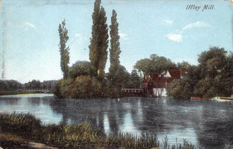 Vintage Postcard Iffley Mill Oxfordshire by F. Frith & Co. Ltd