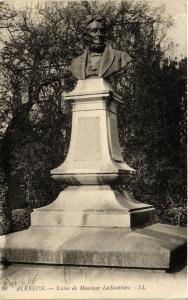 CPA   Alencon - Statue de Monsieur LaSicottiére   (355153)