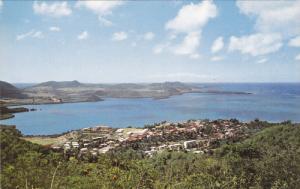 MARTINIQUE, Frace, 1940-1960's; General View