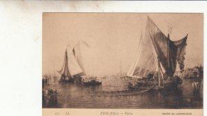 P1848 old pc ziem [felix].-venise boats etc view italy