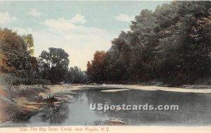 Big Sister Creek - Angola, New York