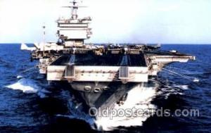 U.S.S. Enterprise  Military Aircraft Carrier Unused