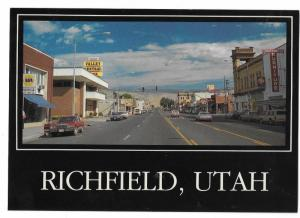 Richfield Utah Main Street Napa Valley Central Bank GE Signs 4 by 6 card