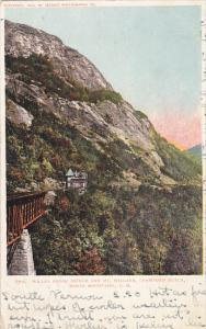 Willey Brook Briddge and Mt Willard Crawford Notch White Mountains New Hampsh...