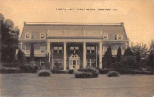 Bristow Virginia Linton Hall Guest House Antique Postcard K47353