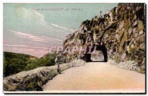 Postcard Old Tunnel De La Schlucht