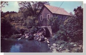 Brewster, Mass/MA Postcard, Old Mill on Cape Cod