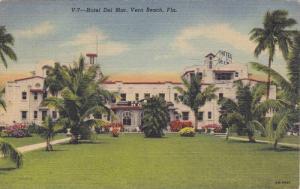 Exterior, Hotel Del Mar, Vero Beach, Florida,  PU-1953