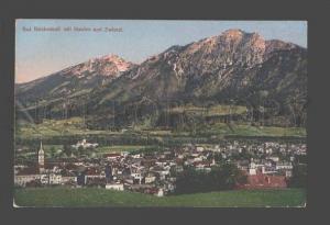 087254 GERMANY Bad Reichenhall mit Staufen und Zwiesel Old PC