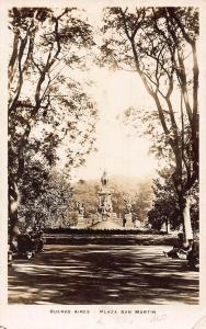 Plaza San Martin Buenos Aires Argentina Postcard
