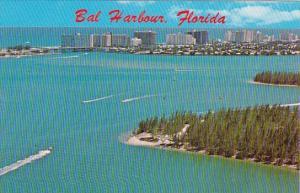 Florida Miami Sweeping Panoramic View Of Bal Harbour