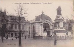Monument Des Trois Sieges Et Palais De Justice, Belfort (Territoire de Belfor...