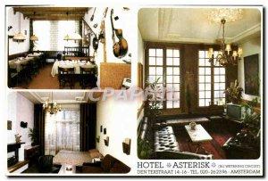 Postcard Modern Hotel Asterisk Den Texstraat Amsterdam