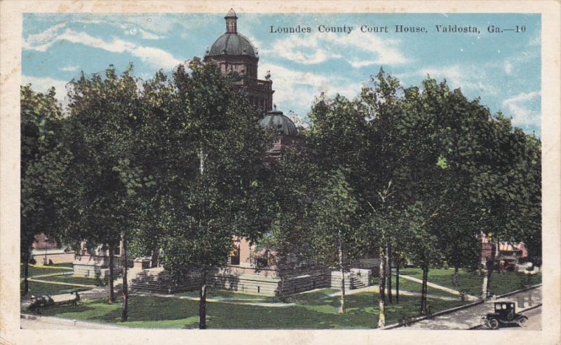 Court House , VALDOSTA , Georgia , PU-1926