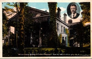 New York Buffalo Wilcox House Where Roosevelt Too Oath Of Office After McKinl...