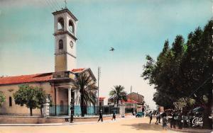 Algeria Guelma L'Eglise et la Rue Saint Augustin Church Kirche