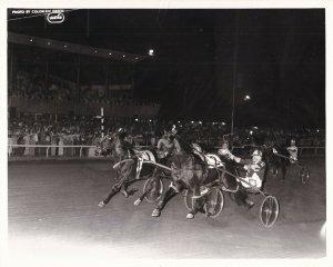 SARATOGA SPRINGS, Harness Horse Race, CARAVELLE SAM winner, 1978 (2)