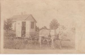 RP: SYLVIA , North Carolina , 1907 ; Delivery Wagon