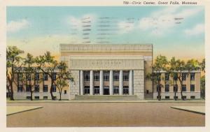 Civic Center, Great Falls, Montana, PU-1953