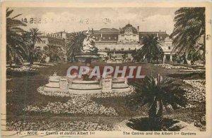 Old Postcard Nice Casino and Garden Albert I