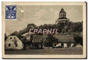 Old Postcard Humprecht Poland Polska Poland