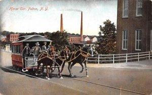 Horse Car Fulton, New York