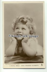 r0645 - Young Princess Elizabeth - postcard