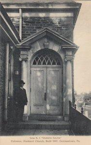 GERMANTOWN, Pennsylvania, 00-10s; Entrance, Dunkard Church
