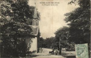 CPA Notre-Dame des Anges - La Chapelle vue de cote (124315)