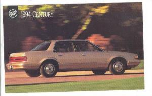 Automobile, The Elegant Styling & Sophistication Of The 1994 Buick Century, 1994
