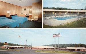 Calhoun Georgia~Shepherd Motel & Restaurant~1950s Postcard