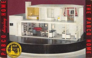 1939 Golden Gate Expo Pabco's Miniature Model Home Vintage Postcard AA36950