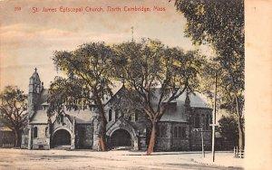 St. James Episcopal Church Cambridge, Massachusetts Postcard
